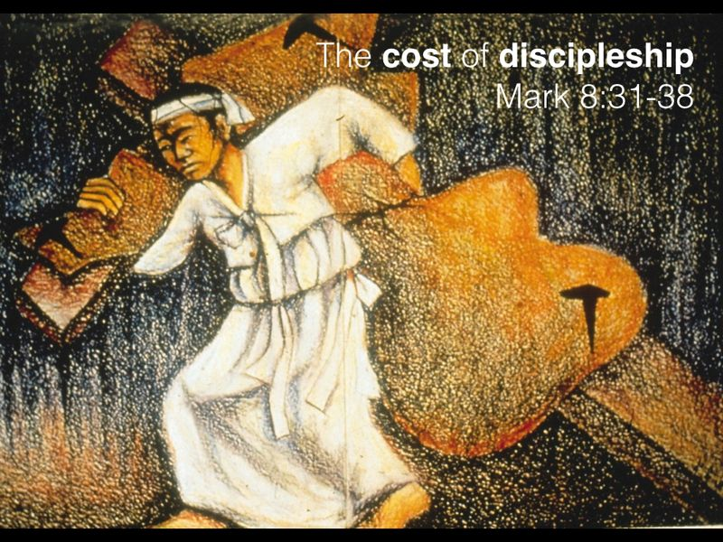 Cost of discipleship.001